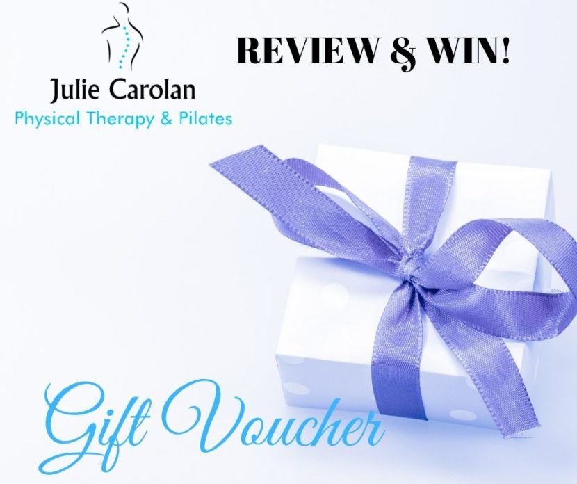 Win Gift Voucher Julie Carolan Physical Therapy & Pilates
