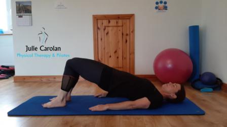 Hip Roll Pilates Exercise Julie Carolan Pilates