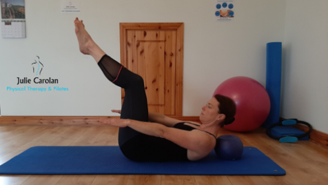 100s pilates exercise Julie Carolan Pilates