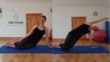 Sidebend. Julie Carolan Pilates